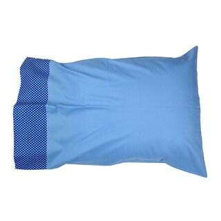 Simplicity Blue Standard Pillowcase
