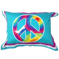 Terrific Tie Dye Standard Pillow Sham