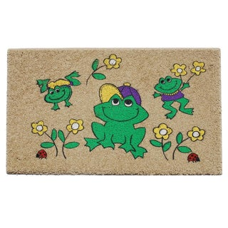 Frog Graphic Indoor Mat