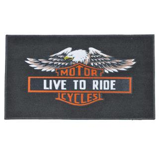 'Live to Ride' Indoor Mat