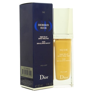Dior Diorskin Nude SPF 15 040 Honey Beige Skin Glowing Makeup