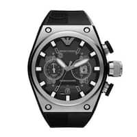 Emporio Armani Men's Sports  Super Meccanico Stainless Steel Watch