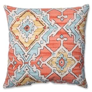 Pillow Perfect Sundance Tangerine Throw Pillow