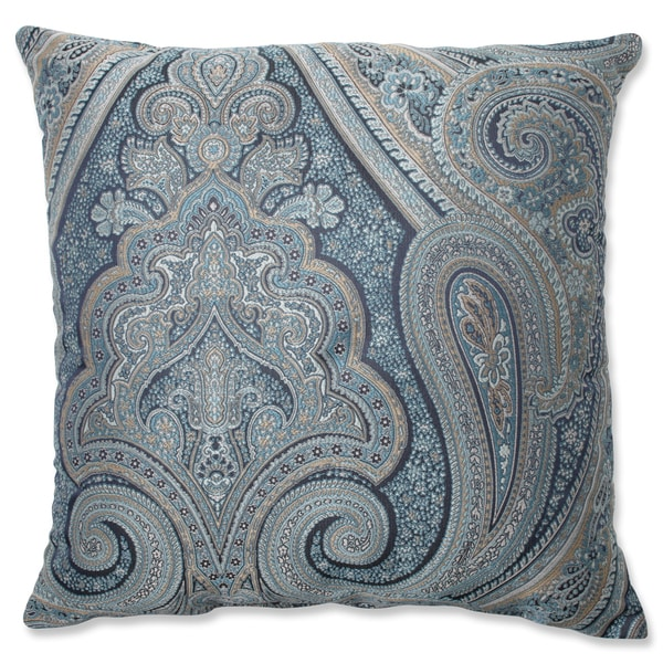 Blue Throw Pillows Overstock : Pillow Perfect Royal Paisley Blue Throw Pillow - Free Shipping Today - Overstock.com - 16446831