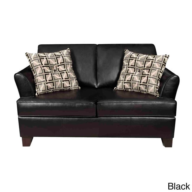 Shop Bonded Leather Hide A Bed Sofa Free Shipping Today