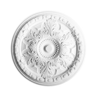 28-inch Small Acanthus Leaves Ceiling Medallion