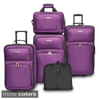 Travelers Choice Versatile 5-piece Luggage Set