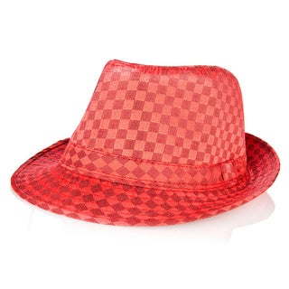Kaeden's Children's Red Fedora