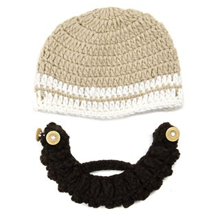 Kids Hand-crocheted Beard Beanie Beard Hat