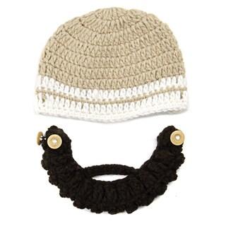 Kids Hand-crocheted Beard Beanie Beard Hat