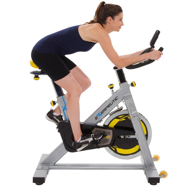 Exerpeutic LX905 Training Bicycle with Computer and Heart Pulse Sensors