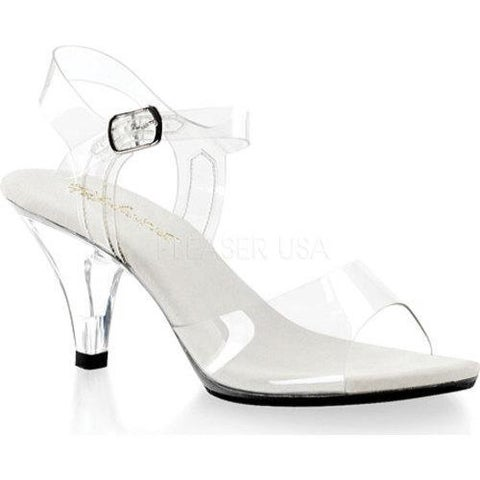 Women's Fabulicious Belle 308 Clear/Clear