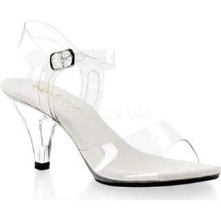 Women's Fabulicious Belle 308 Clear/Clear|https://ak1.ostkcdn.com/images/products/9284619/P16447828.jpg?impolicy=medium