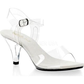 Women's Fabulicious Belle 308 Clear/Clear (More options available)