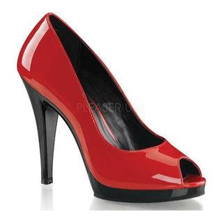 Women's Fabulicious Flair 474 Red/Black