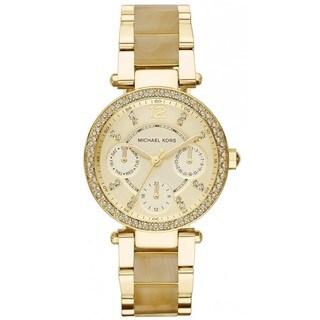 Michael Kors Women's Parker MK5842 Goldtone Stainless Steel Quartz Watch