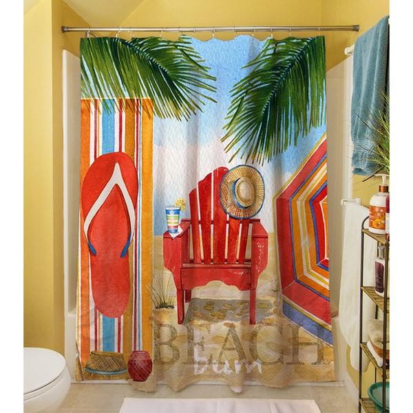 Beach Medley Shower Curtain