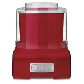 Cuisinart ICE-21RFR Red Frozen Yogurt, Ice Cream & Sorbet Maker (Refurbished)