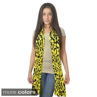 Bold Animal Print Scarf