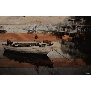 Parvez Taj 'Still Dock' Fine Art Print