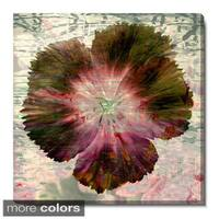 Studio Works Modern 'Floral Flair' Fine Art Gallery Wrapped Canvas