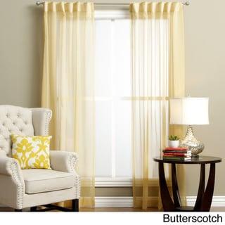 Lucerne Wanda Pleat Back Tab Curtain Panel Pair