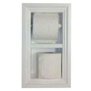 Deltona Series Dual Recessed Toilet Paper Holder