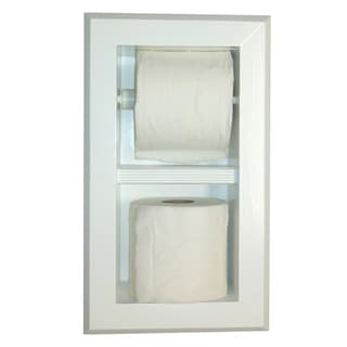 Deltona Series 12 Dual Recessed Toilet Paper Holder