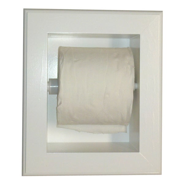 Shop Deltona Series Xl Recessed Toilet Paper Holder Free