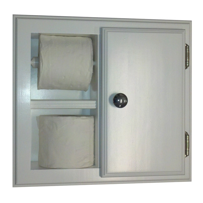 WG Wood Products Deltona Series Recessed Toilet Paper Cab...