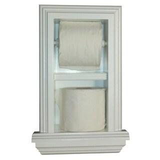 Deltona Series 18 Dual Recessed Toilet Paper Holders