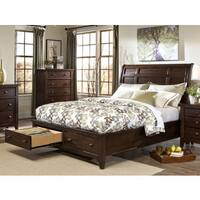 Jackson Solid Wood Storage Sleigh Bed