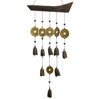 Handmade Tibetan Bell Wind Chime (China)