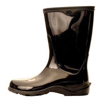 Garden Outfitters Women's Black Waterproof Rainboots (Size 6)
