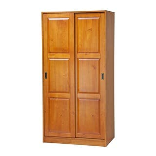 Wood Armoires & Wardrobe Closets For Less | Overstock.com
