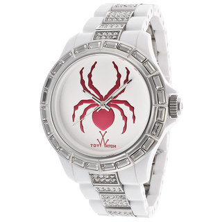 ToyWatch Women's K18WH Spider White Stainless Steel Watch