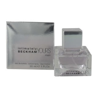 David Beckham Intimately Yours Men's 1-ounce Eau de Toilette Spray