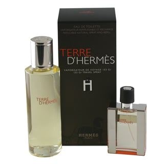 Hermes Terre D'Hermes Men's 2-piece Fragrance Set