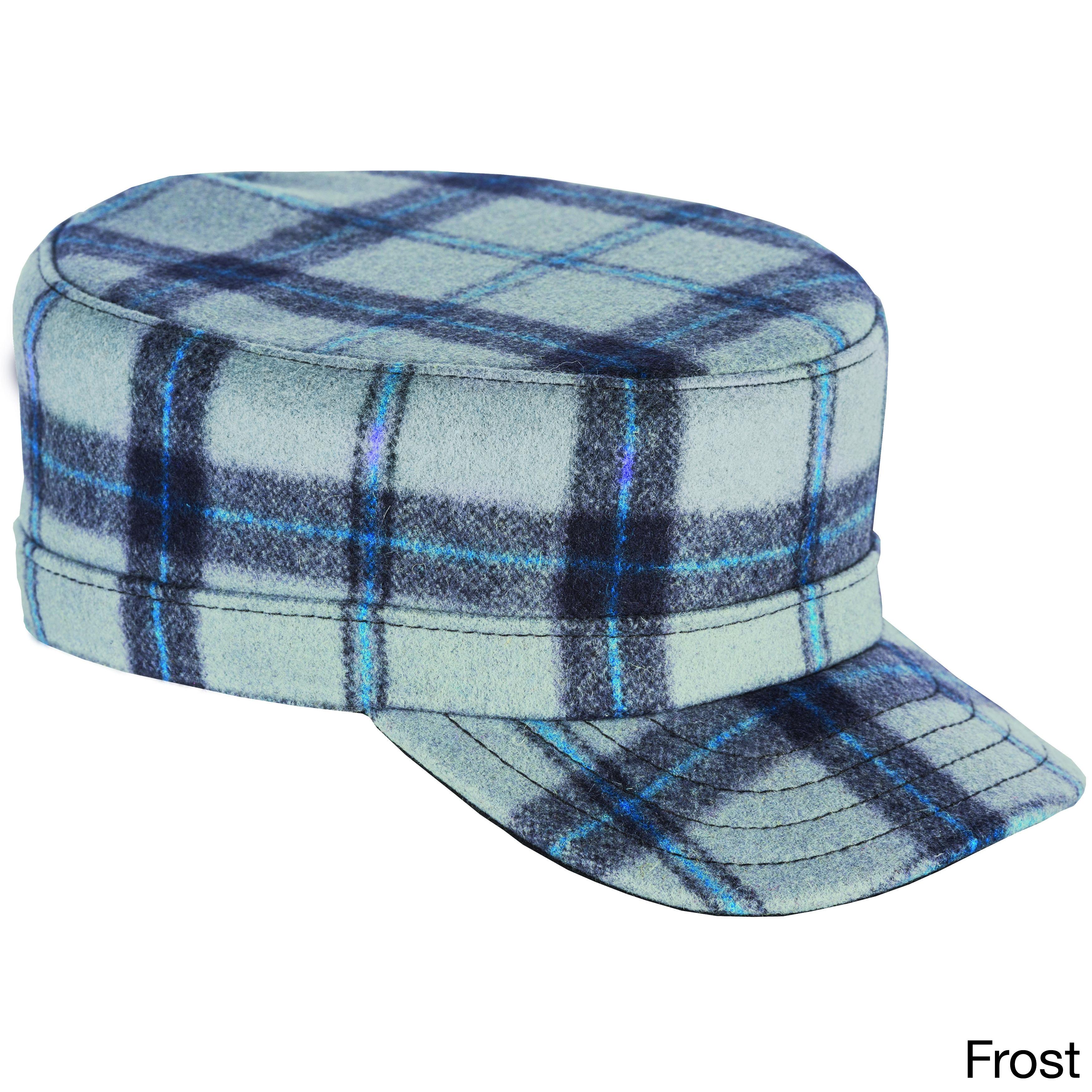 Stormy Kromer 'The Flat Top' Hat (Frost Size 7 3/4), Men'...