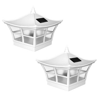 5x5 Ambience Solar Post Cap (Set of 2)