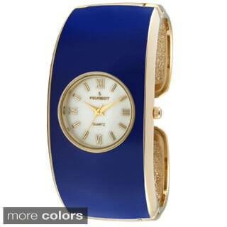 Peugeot Women's Classic Enamel Cuff Watch (2 options available)