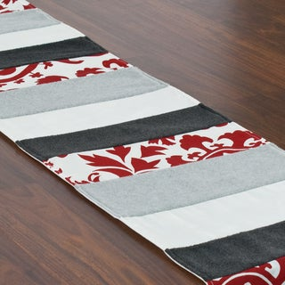Suzani Lipstick Pieced Table Runner