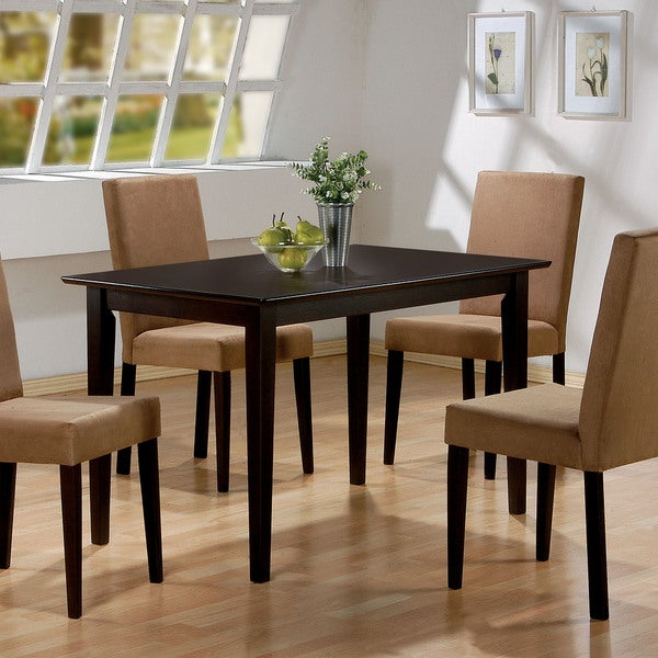 Coaster Company Clayton Dining Table   Cappuccino