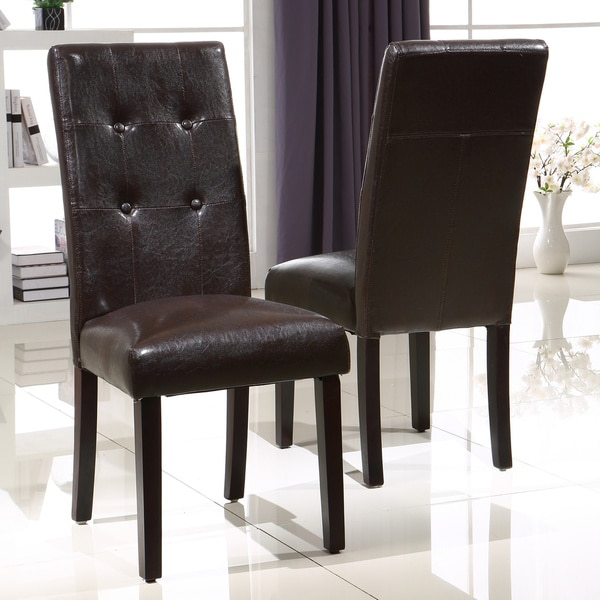 Shop Royal Comfort Collection Luxury Brown Faux Leather
