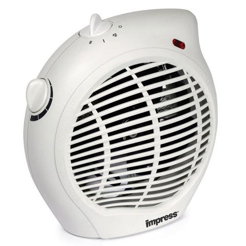 Impress 1500-watt 2-speed Fan Heater with Adjustable Thermostat