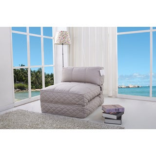 Austin Latte Bean Bag Chair Bed