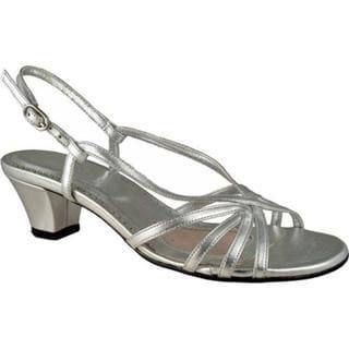Women's Mark Lemp Classics Leash Silver Nappa