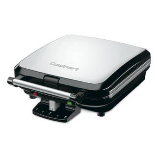 Cuisinart WAF-150 Stainless Steel 4-Slice Belgian Waffle Maker|https://ak1.ostkcdn.com/images/products/9288293/P16451056.jpg?impolicy=medium