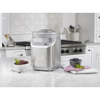 Cuisinart ICE-70 Electronic Brushed Chrome Ice Cream Maker