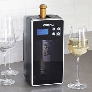Waring PC1000 1-Bottle Digital Wine Chiller and Warmer